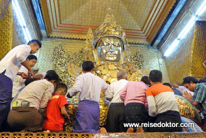 Mahamuni Budda Mandalay