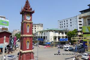 Mandalay Uhrturm