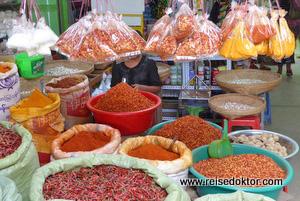 Markt in Myanmar