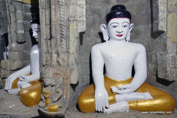 Mrauk U Buddhafiguren