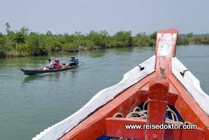 Myanmar Bootsfahrt