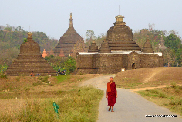Myanmar Mrauk U.