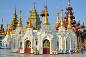 Shwedagon Pagode Myanmar