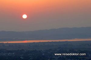 Sonnenuntergang Mandalay