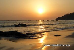 Sonnenuntergang Myanmar