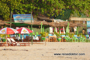 Strandrestaurants Ngapali Strand