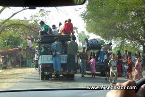 Straßensammlung Myanmar