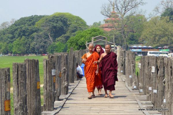 U-Bein Brücke in Mandalay