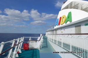 AIDAaura Deck