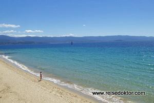 Strand bei Ajaccio