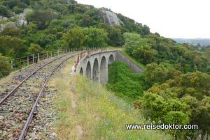 Bahnfahrt Sardinien