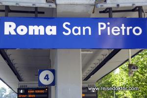 Bahnhof in Rom
