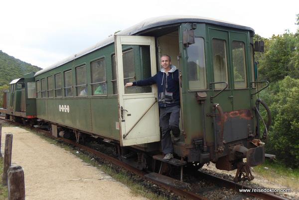Zugfahrt durch die Gallura