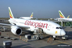Ethiopian Airlines Boing 787