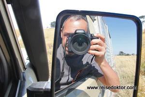 Pirschfahrt in Botswana