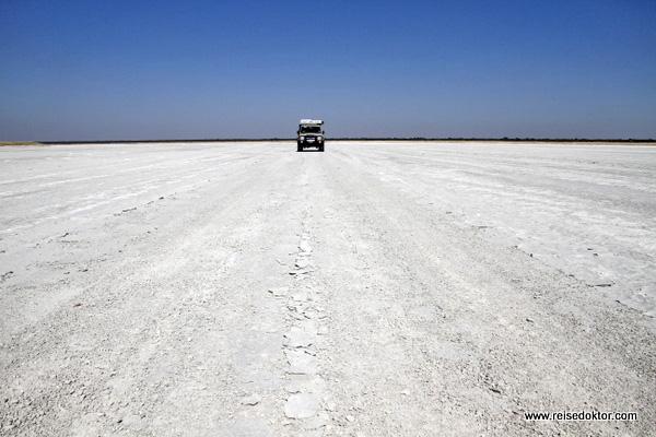 Salzpfannen Botswana