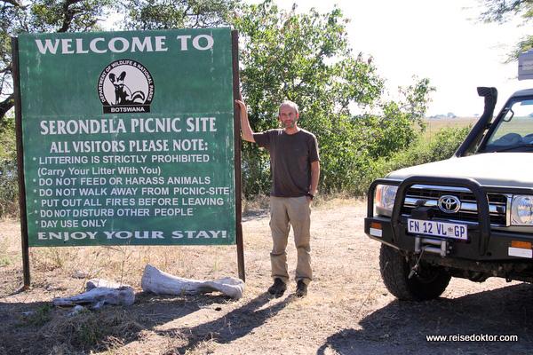 Serondela Picnic Site