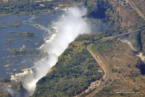 Victoria Fälle Afrika