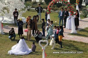 Hochzeitsfotos in Usbekistan