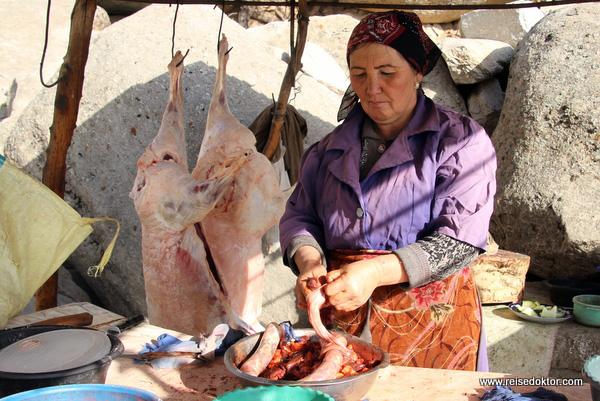 Rastplatz Usbekistan