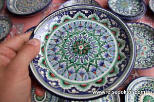 Töpferware von Usbekistan
