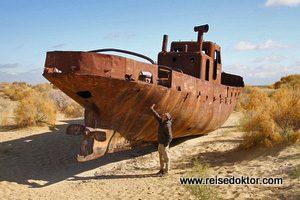 Aralsee ausgetrocknet