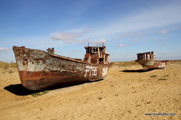 Aralsee Schiffswracks