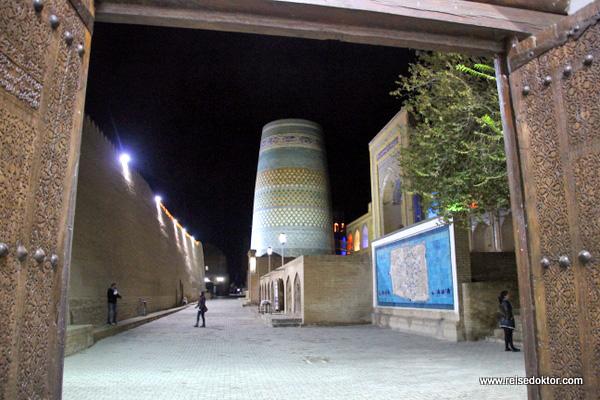 Khiwa bei Nacht