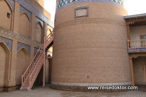 Khiwa Minarett Altstadt