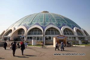 Markthalle in Tashkent