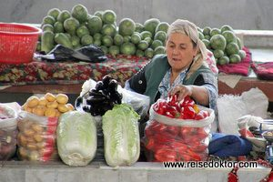 Marktstand Samarkand