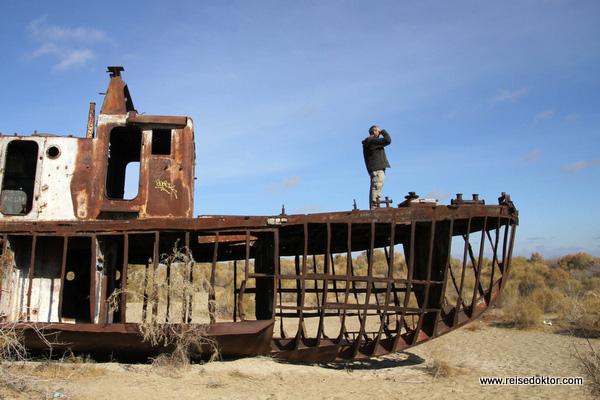 Schiffswrack Aralsee