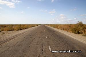 Usbekistan: Fahrt von Chiwa nach Buchara