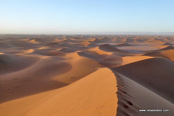Marokko Sanddünen