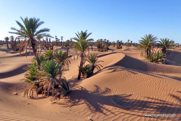 Marokko Wüstenwanderung