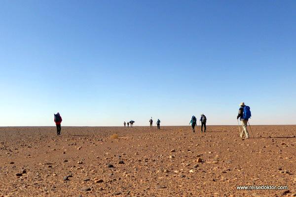Wüstenwanderung Marokko