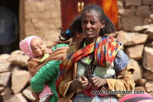 Marktfrau in Yeha