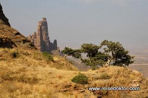 Landschaft Äthiopien
