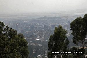 Addis Abeba Stadtansicht
