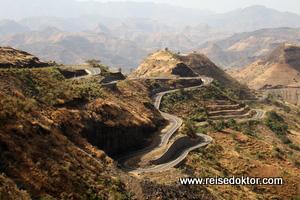 Äthiopien Straßenfoto
