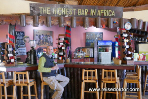 Höchste Bar in Afrika