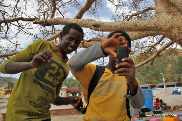 Jungs in Axum
