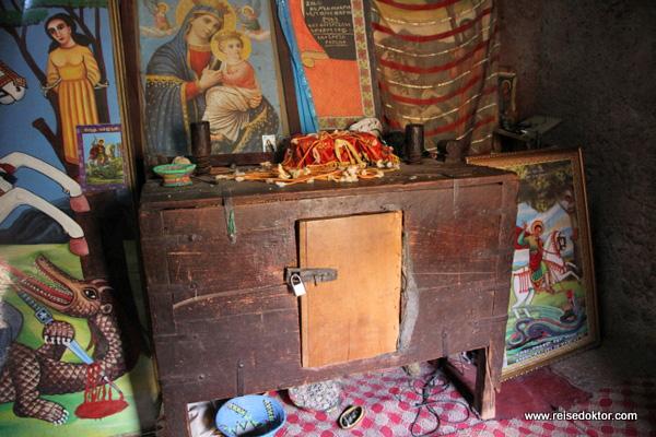 Kircheninnere Lalibela