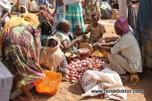 Markt in Äthiopien