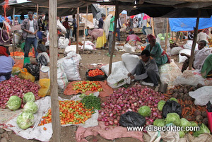 Markt in Lalibela