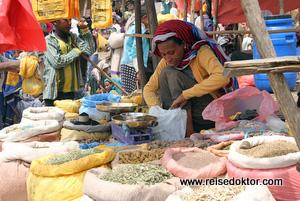 Marktstand in Lalibela