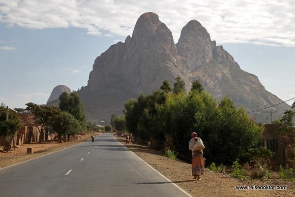 Nordäthiopien Straße