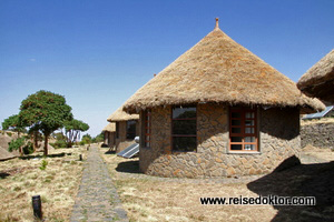 Semien Lodge Rundhütte