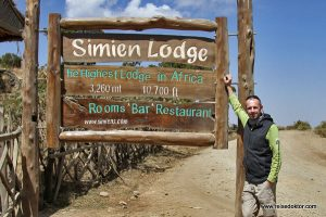 Simien Lodge Äthiopien