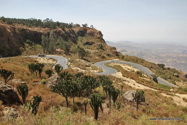 Straße in Äthiopien